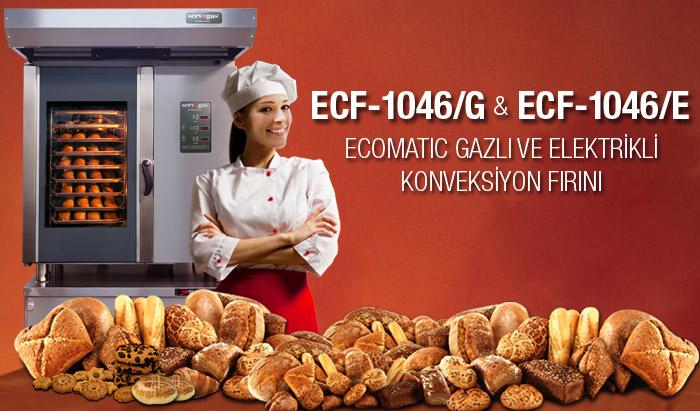 Ecomatic Gazlı ve Elektrikli Konveksiyon Fırın